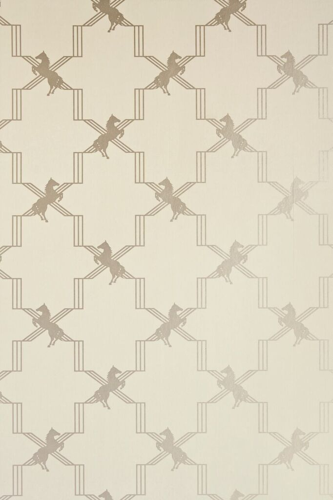 horse trellis | wallpaper