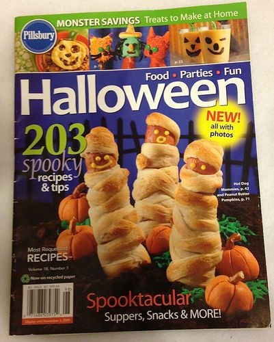 rare pillsbury halloween magazine volume 18 number 1 spooky recipes tips - Halloween Magazines