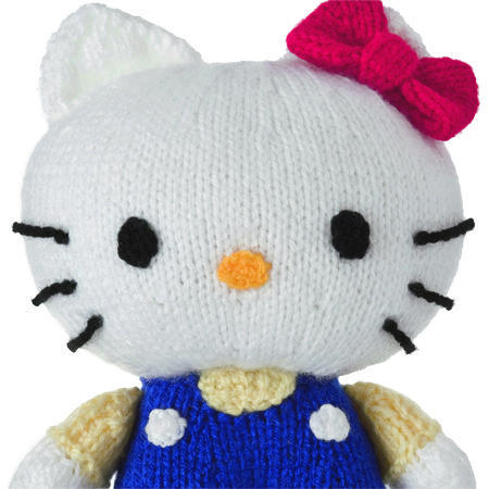Hello Kitty Toy Knitting Pattern Free : 112 best images about Knit Toys on Pinterest Free pattern, Doorstop and Kni...