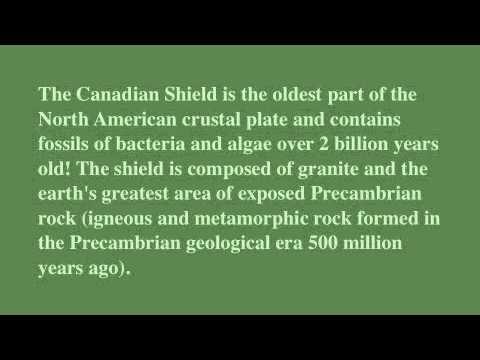 8 Landform Regions of Canada - YouTube