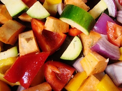 roasted veggies (from eat,shrink & be merry)