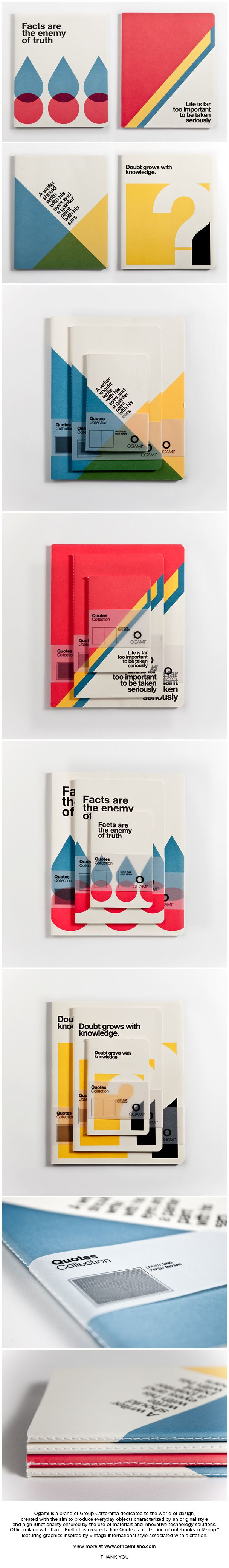 Ogami Quotes Collection Notebook by Officemilano