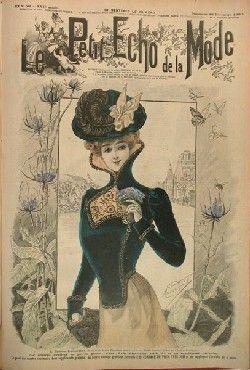 Le Petit Echo de la Mode : le premier magazine féminin : Le Petit Echo de la Mode, qui a été créé en 1880, a marqué la naissance des magazines féminins en France. Ce titre qui s'adressait aux mères de famille a été lu par des générations de femmes.