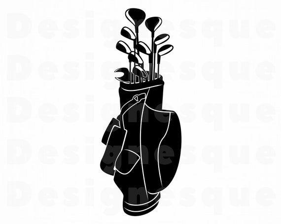 Download Golf Clubs SVG Golf Svg Golf Bag Svg Golf Club Svg Golf ...