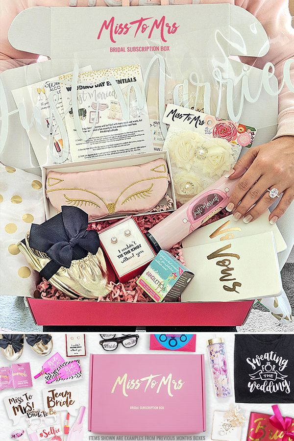 Bridal Subscription Box Wedding Subscription Box Bride Box Gift Wedding Gifts Packaging