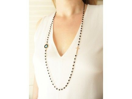 Eye Rosary necklace