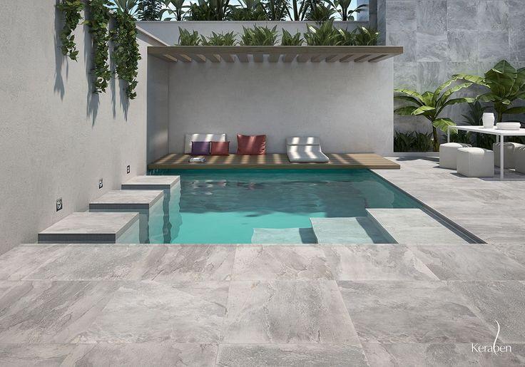 #terraza #exterior #arquitectura #outdoor #terrace #cerámica #tiles #innovación #novedad #interiorismo #inspiración #piscina #verano