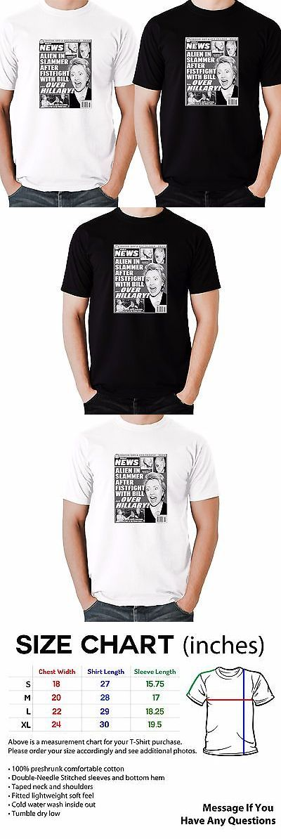 Hillary Clinton: Hillary Clinton World News T Shirt Hilarious Must See! Anti Hillary Election 16 -> BUY IT NOW ONLY: $23.87 on eBay!