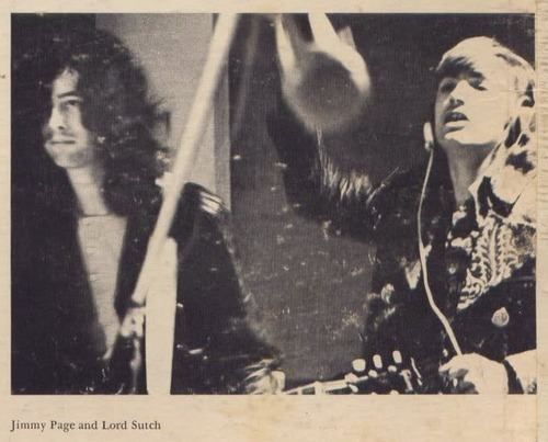 Jimmy Page & Screaming Lord Sutch