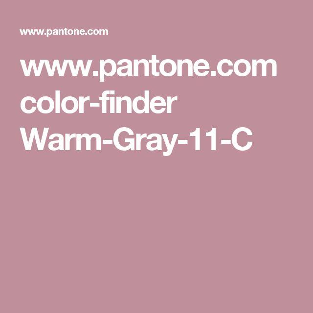 www.pantone.com color-finder Warm-Gray-11-C