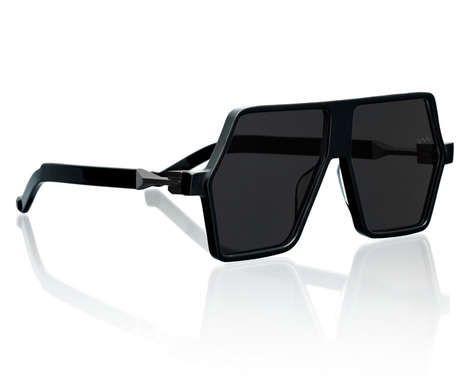 Futuristic Polymer Sunnies - The VAVA Eyewear Collection Embraces Bold Minimalism