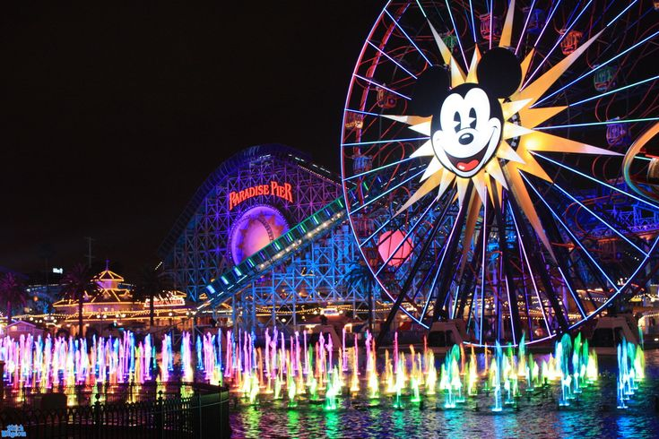 World of Colour @ Disney's California Adventure Park