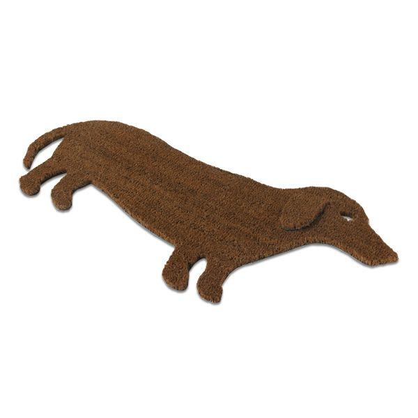 Paillasson design chien : Il vous dira bonjour chaque matin. Un objet cadeau insolite.