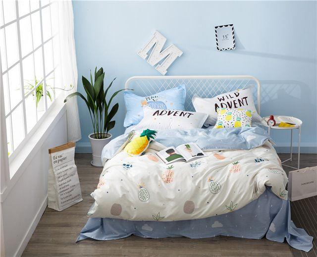Image Result For Pineapple Bedding Target Bed Duvet Covers Duvet Cover Sets Pineapple Bedding