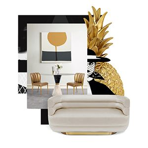 Inspired by the 50's and 60's retro designs, Loren sofa combines the best of the modern flair with the contemporary lifestyle. Supported by an oval polished brass base, it is fully upholstered in leather and has two distinctive rolled arms, that can be used both as back and armrest, creating a futuristic tub design.  See more: https://goo.gl/C5kN2c