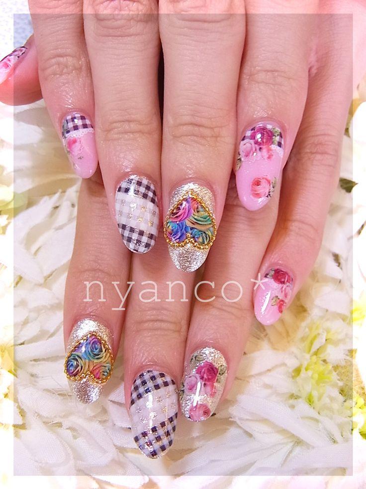 83 best Japanese Nail Art images on Pinterest   Japanese nail art ...