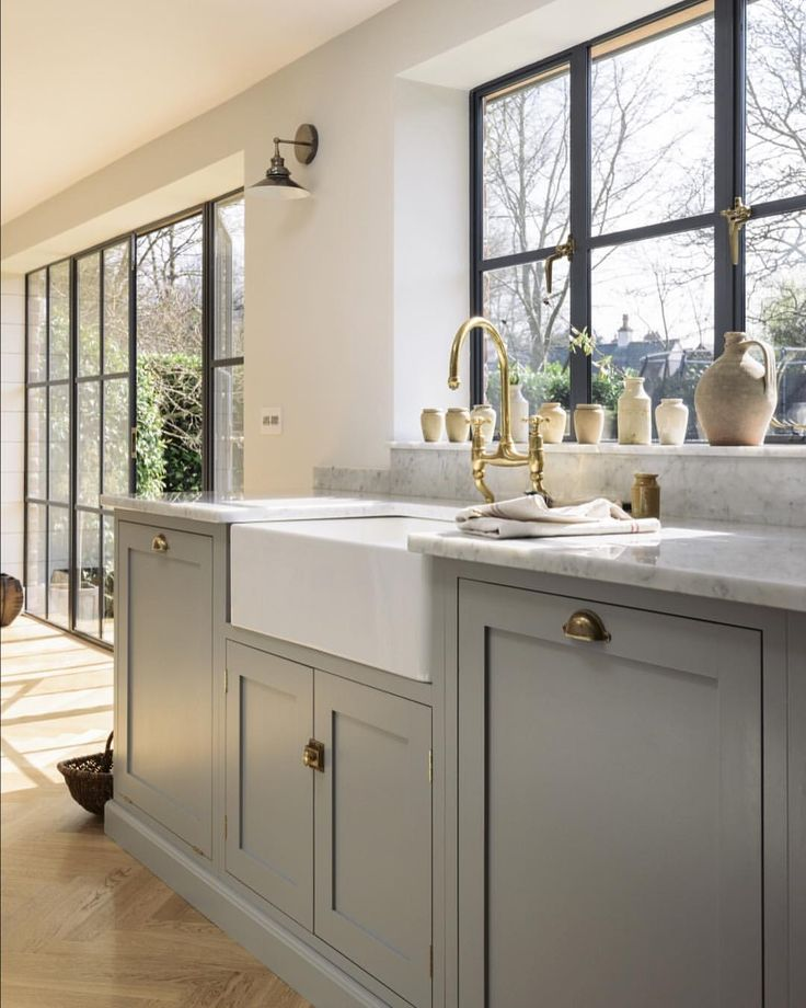 "93 Likes, 4 Comments - deVOL Kitchens (@devolkitchens) on Instagram: ""Big Crittall style windows flooded the Chester Kitchen with the loveliest light and there were…"""