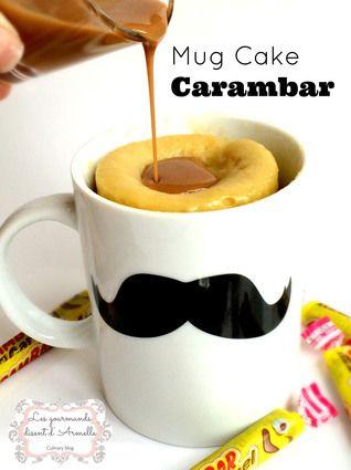 Mug Cake Carambar