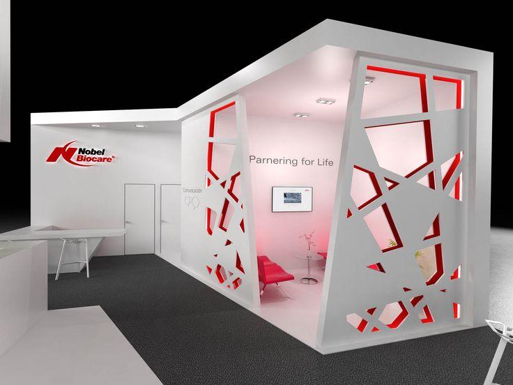 Diseño 3D realizado por By Quam de un stand para la feria Expodental imagen 5