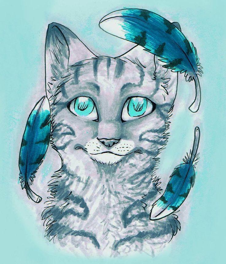 Jayfeather | Warrior cats fan art, Warrior cat drawings ...