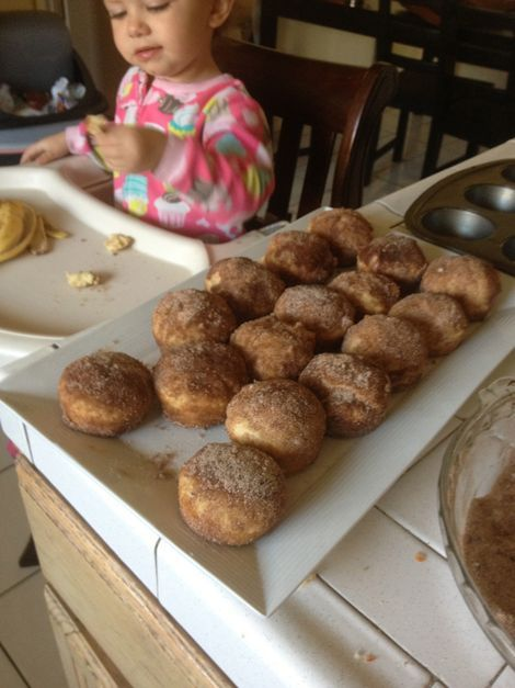 Breakfast Puffs