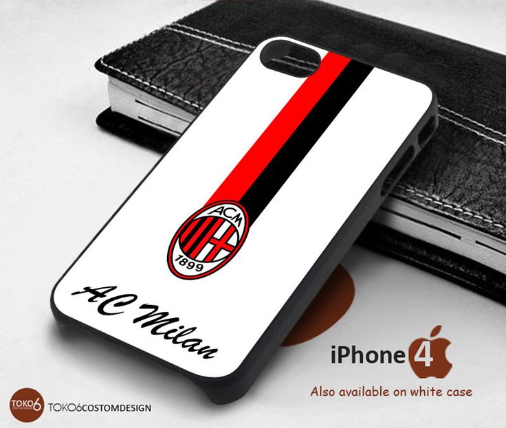 Ac Milan line Flag for iPhone 4/4S, iPhone 5/5S, iPhone 6, iPod 4, iPod 5, Samsung Galaxy Note 3, Galaxy Note 4, Galaxy S3, Galaxy S4, Galaxy S5, Galaxy S6, Phone Case