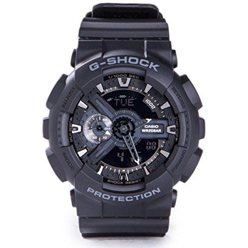 G-Shock Military GA-110 Watch - Black - http://physicalfitnessshop.com/shop/g-shock-military-ga-110-watch-black/ http://physicalfitnessshop.com/wp-content/uploads/2018/03/5df607717611.jpg