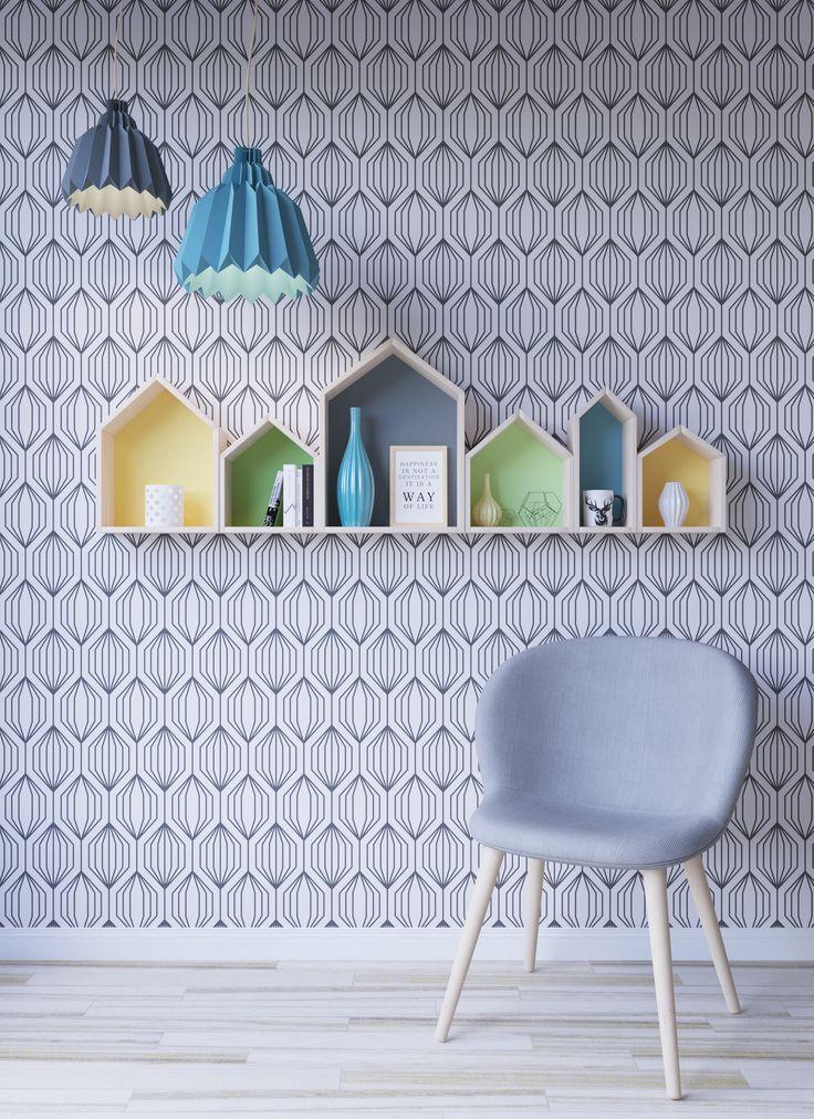 Shelves houses