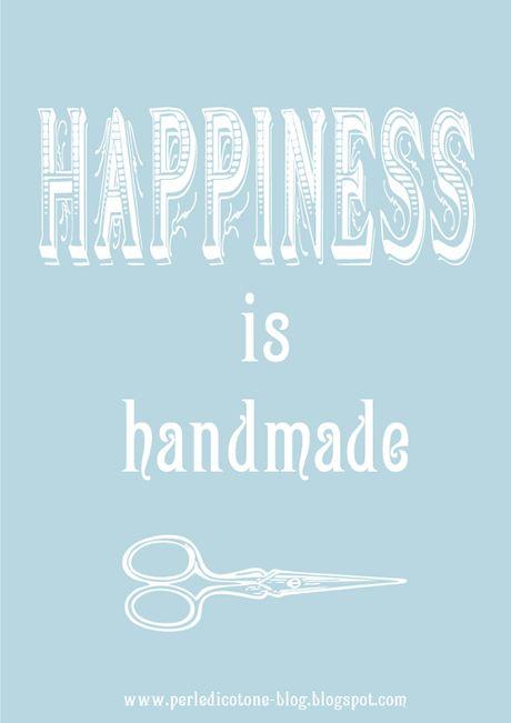 Happiness is handmade!