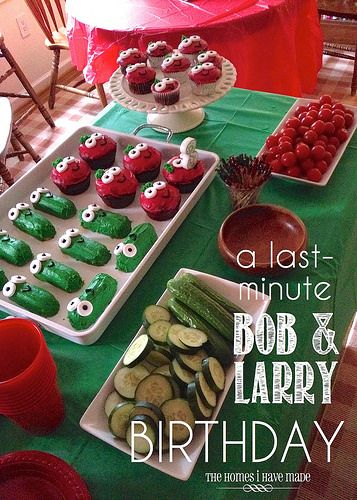 Bob & Larry Birthday Party by TheHomesIHaveMade, via Flickr