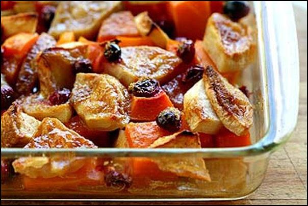 Butternut Squash Apple Cranberry Bake | Recipes - Veggies & Sides | P ...