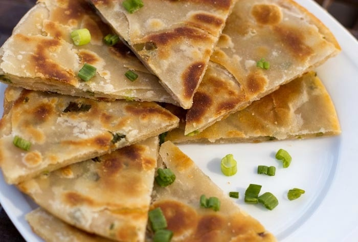 Scallion pancakes...and obsession since I was 15 years old. But I ...