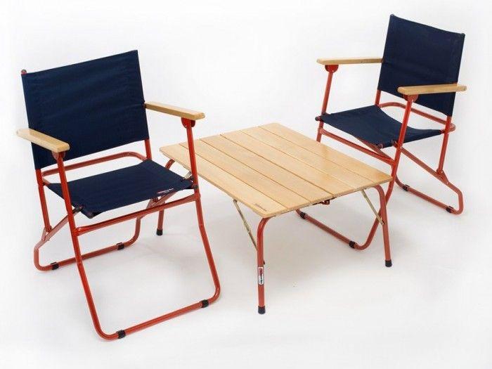 アウトドアファニチャー −2−キャンプやフェスにお洒落で堅牢なテーブル&チェア   100%LiFE