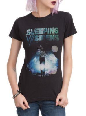 Sleeping With Sirens Kellin Screaming Girls T-Shirt