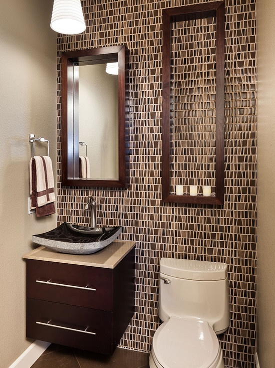 Powder Room Wall Decor New 65 Best Powder Room Bathroom Ideas Images On Pinterest  Bathroom Inspiration Design