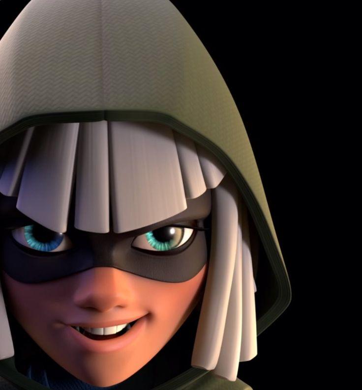 Bandit--Clash Royale