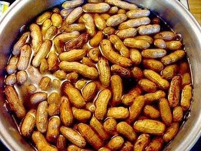 "Peanut Boil - ""the"" Southern Appetizer  - photo courtesey Lexington/Columbia, S.C."