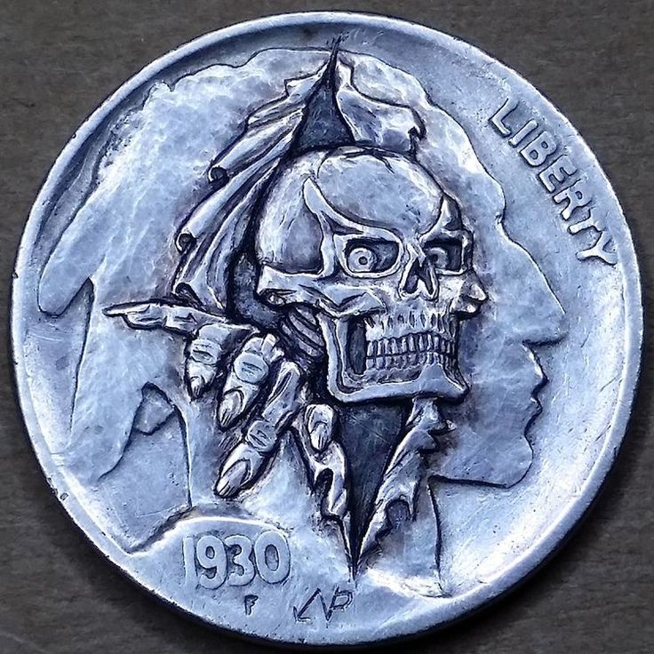 8 best skull coins images on Pinterest