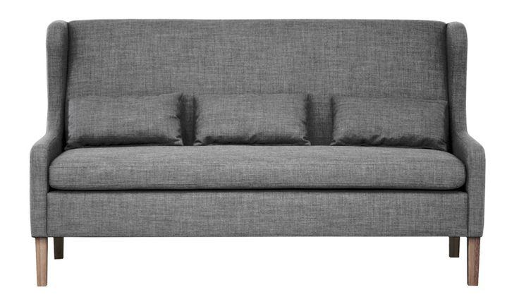 Lazio sofa hvitoljet benPrisgruppe 1