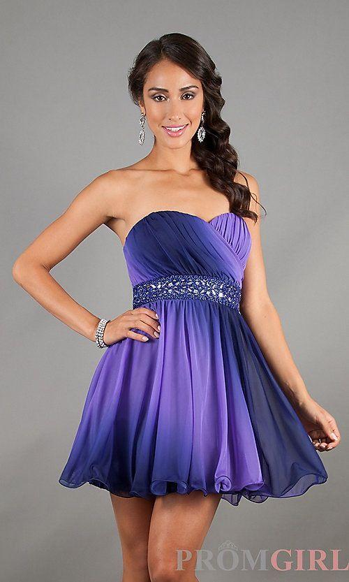 purple fade dress   Dresses   Pinterest   Navy blue
