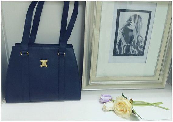 vintage Celine shoulder tote bag www.hedyjp.com | Vintage Celine ...