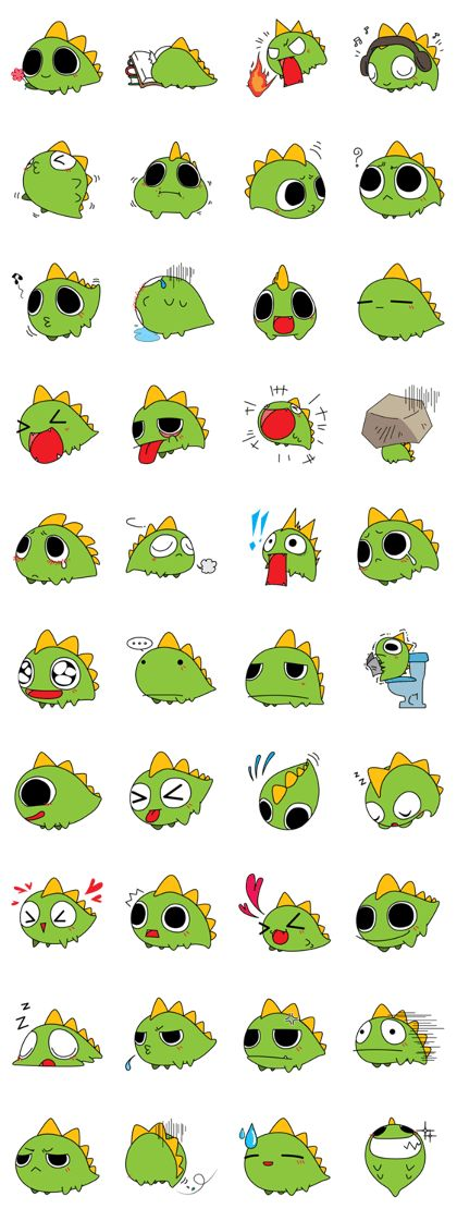 Dragon (Jr.) - Make Your Own Stickers | LINE Creator