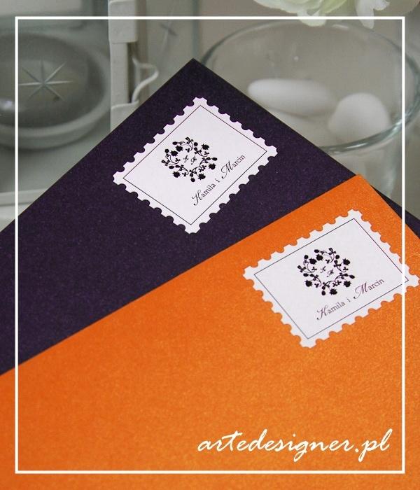 Znaczki ślubne Vintage. Product By / www.artedesigner.pl