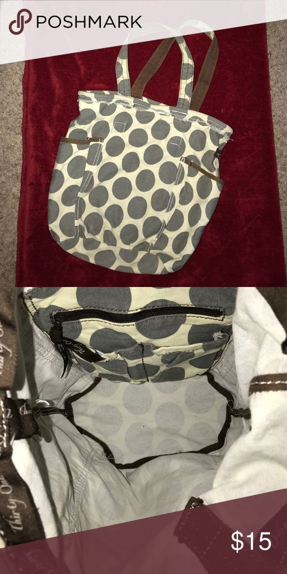 Thirty-One Retro Metro Bag Smoke free home. Very clean. Had monogram letter on front but was removed. Thirty One Bags Shoulder Bags