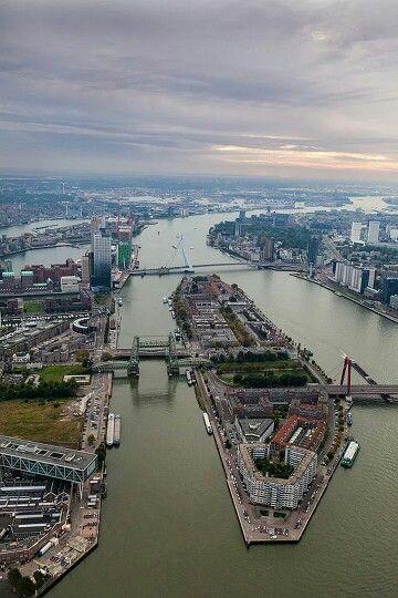 Rotterdam noordereiland, The Netherlands