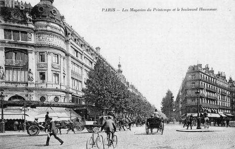 Les magasins du Printemps en 1900