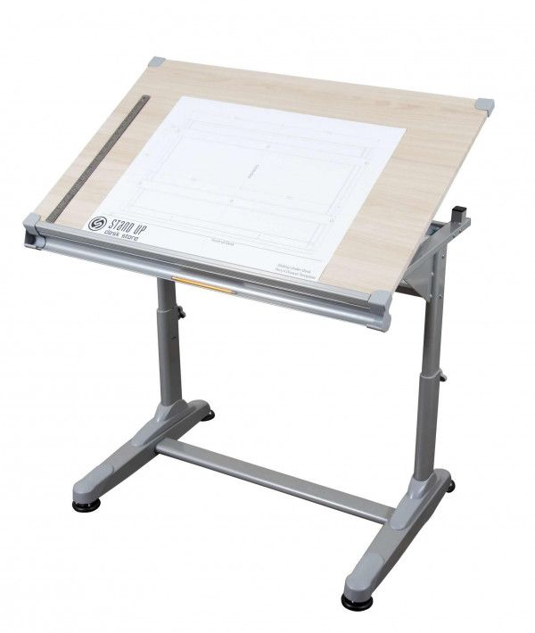 Height Adjustable Drawing And Drafting Table Stand Up Desk Drawing Table Drafting Table