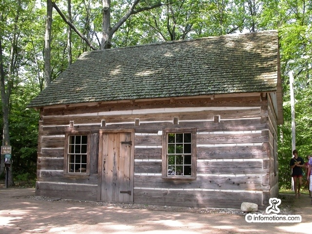 27 best images about pioneer homes on pinterest museums for Log and brick home