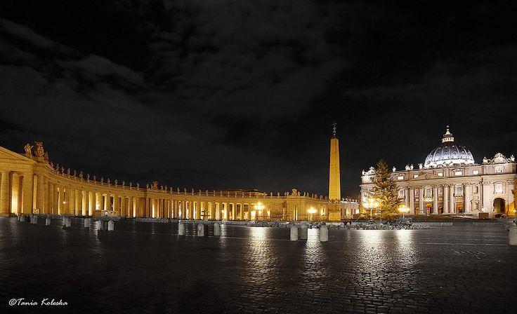 Piazza Saint Petro, Rome...