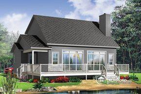 Plan de maison no. W3965 de dessinsdrummond.com